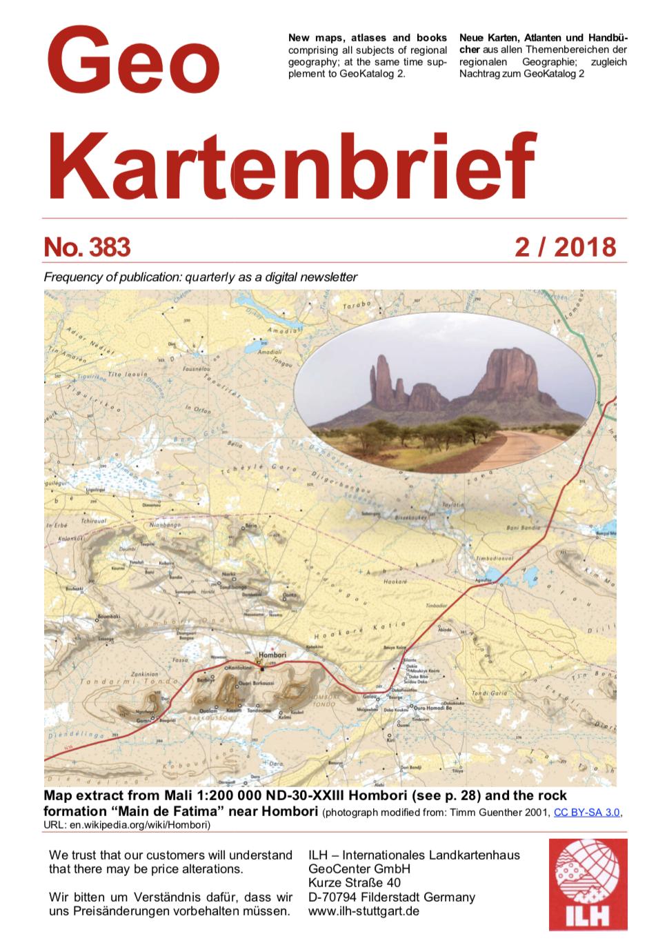 GeoKartenBrief Cover